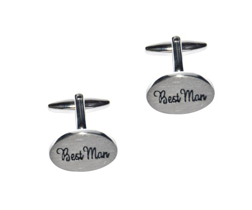 Best Man Cufflinks 1