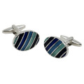 Blue & Green Cufflinks 2