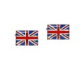 British Union Jack Flag Cufflinks 2