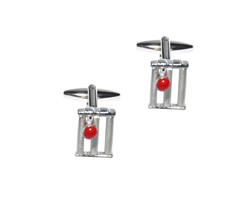 Cricket Cufflinks 1