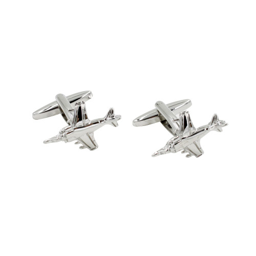 Fighter Jet Cufflinks Present for Him 1