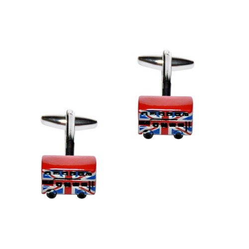 London Bus Cufflinks 3