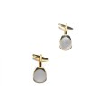 Mother of Pearl Gold Cufflinks 3