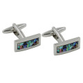 Mother of Pearl Stone Cufflinks 1