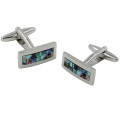 Mother of Pearl Stone Cufflinks 2