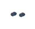 Navy Blue Sphere Cufflinks 2