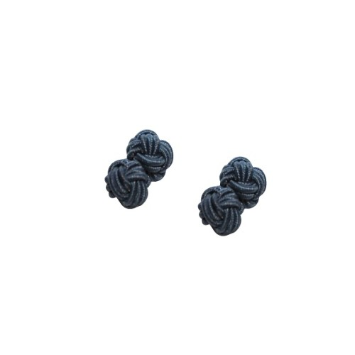 Navy Blue Sphere Cufflinks