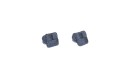 Navy Blue Square Cufflinks 2