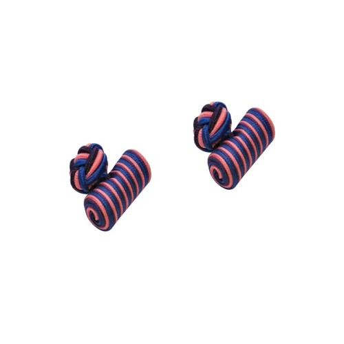 Purple, Blue & Pink Barrel Cufflinks 3