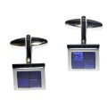 Purple Quadrant Cufflinks 3