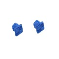 Shades of Blue Square Cufflinks
