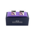Sunrise Purple Cufflinks Gifts for Him 2