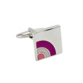 Sunrise Purple Cufflinks Gifts for Him 3