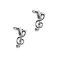Treble Clef Music Cufflinks 1