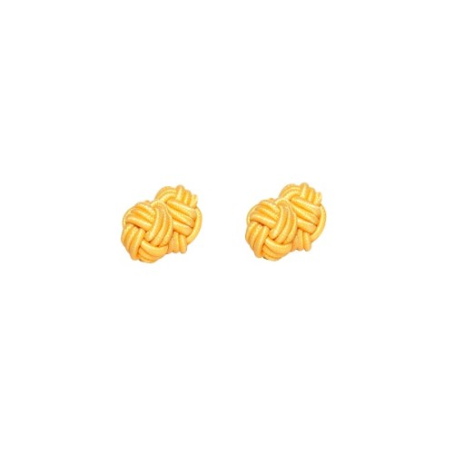 Yellow Sphere Cufflinks 3