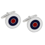 Contemporary Circle Cufflinks