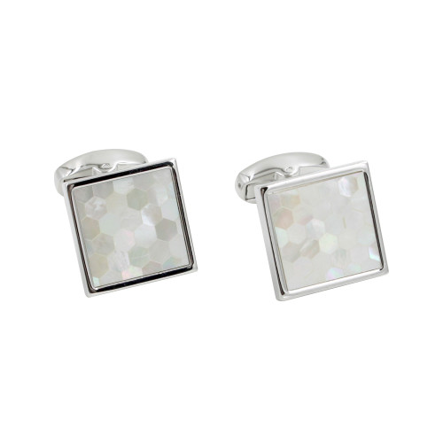 Cufflinks Gift For Him Mosaic Cuff Links