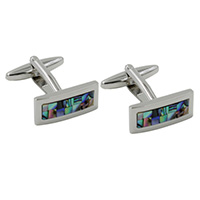mother of pearl stone cufflinks