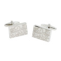 Swirl Pattern Cufflinks