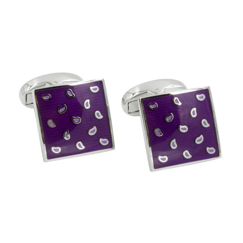 Purple Cufflinks Online Australia