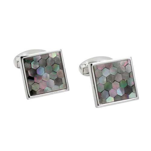Square Mosaic Cufflinks