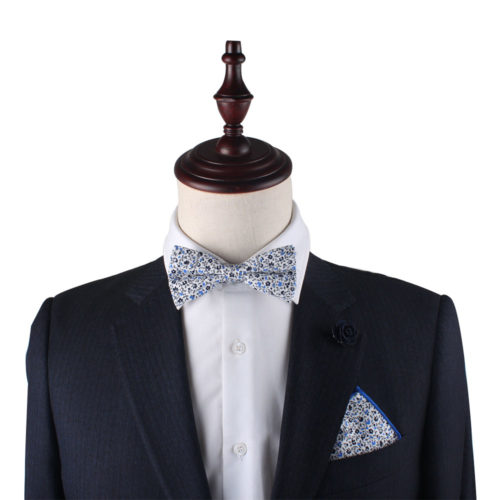 Floral Bow Tie for Groomsmen
