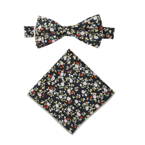 Black Red Yellow Multi Floral Bow Ties Online Australia