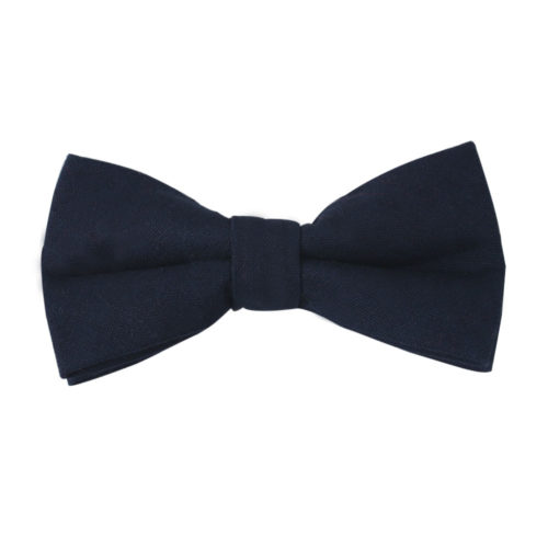 Dark Forest Navy Bow Ties for Weddings