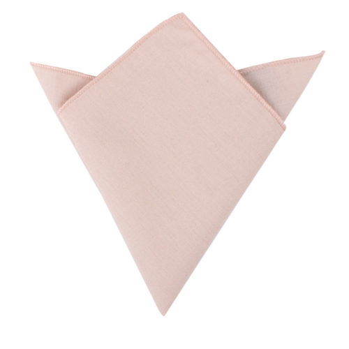 Light Pink Pocket Square Groomsmen Australia