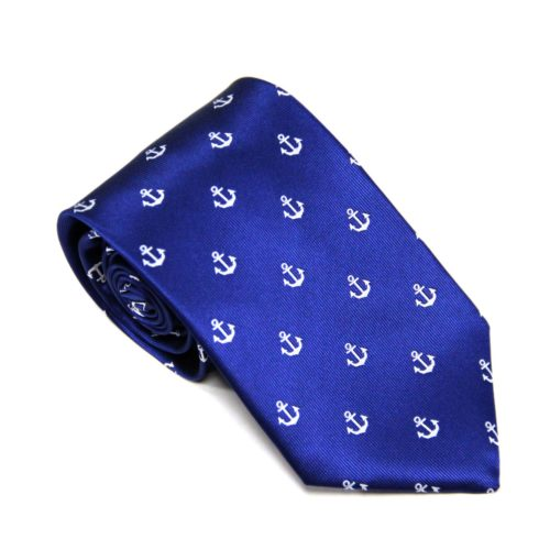 Navy Anchor Tie for Weddings