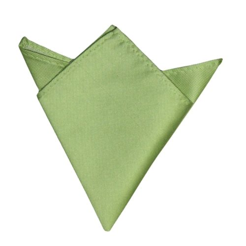 Lime Green Pocket Square for Him