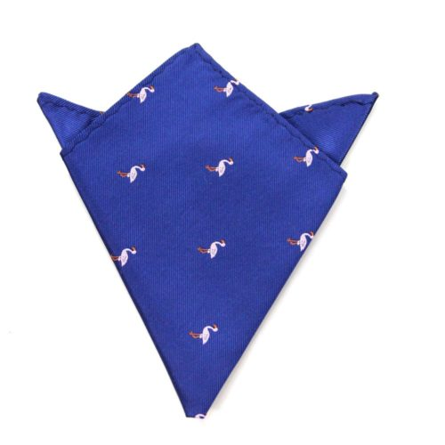 Flamingo Pocket Square for Groom