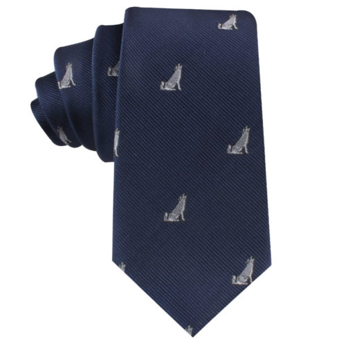 Wolf Dog Tie Gift for Men