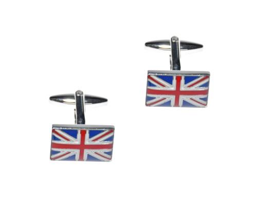 British Union Jack Flag Cufflinks 1