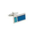 Aqua Cufflinks Groom Cufflinks