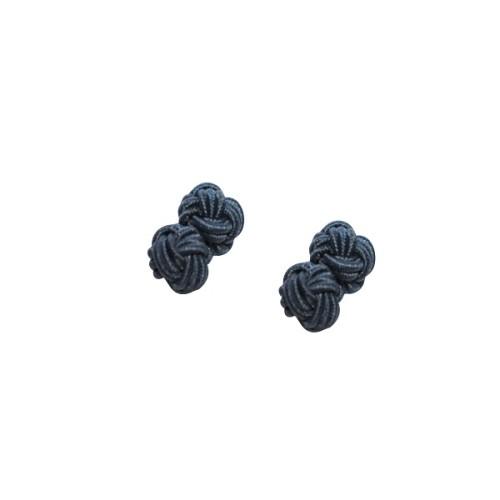 Navy Blue Sphere Cufflinks