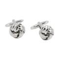 Cufflinks Silver Knot Online