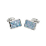 Crystal Mosaic Cufflinks
