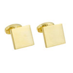 Gold Cufflinks Australia Online Gift for Him