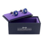 Blue Cufflinks Online Australia Gift for Dad