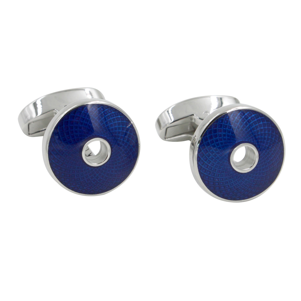 Blue Cufflinks Online Gift for Anniversary