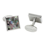 Pattern Multicolored Cufflinks
