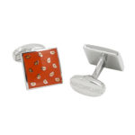 Orange Cufflinks Gifts for Groomsmen Australia