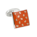 Orange Cufflinks Gifts for HIm Australia