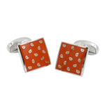 Orange Cufflinks Australia Online Gifts