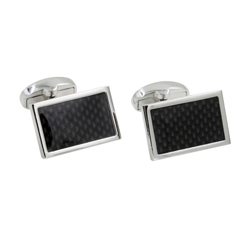 Carbon Fibre Cufflinks for Him Cufflinks Gifts for Groom