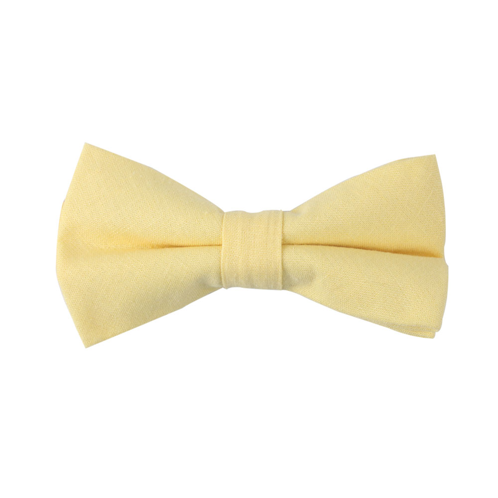 Yellow Bow Tie For Men