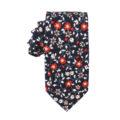 Black Red Amaryllis Floral Tie Online Melbourne