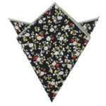 Multi Floral Pocket Squares for Wedding