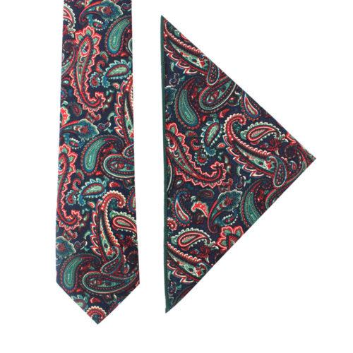 Carpe diem Paisley Tie & Pocket Square Sets Online